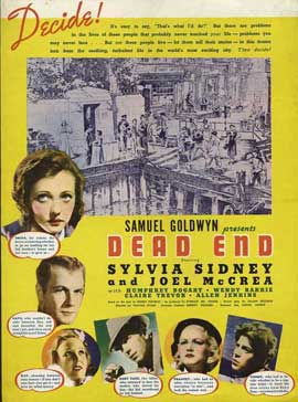 Dead End - 11 x 17 Movie Poster - Style D