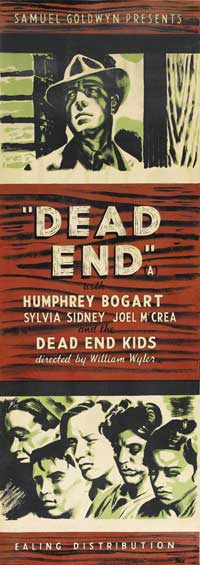 Dead End - 20 x 60 - Door Movie Poster - Style A