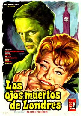 Dead Eyes of London - 11 x 17 Movie Poster - Spanish Style A