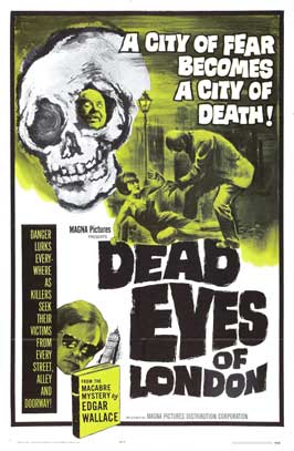 Dead Eyes of London - 11 x 17 Movie Poster - Style A