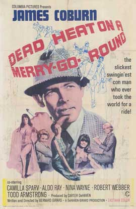Dead Heat on a Merry-Go-Round - 11 x 17 Movie Poster - Style A