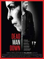 Dead Man Down - 11 x 17 Movie Poster - French Style A