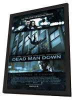 Dead Man Down - 27 x 40 Movie Poster - Style A - in Deluxe Wood Frame