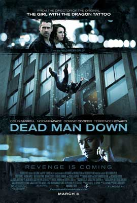 Dead Man Down - DS 1 Sheet Movie Poster - Style A