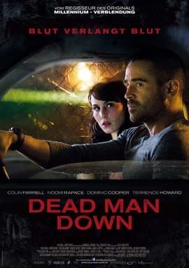 Dead Man Down - 27 x 40 Movie Poster - German Style A
