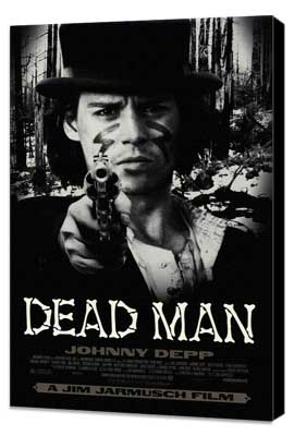 Dead Man - 11 x 17 Movie Poster - Style A - Museum Wrapped Canvas