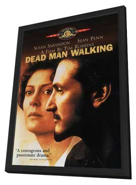 Dead Man Walking - 11 x 17 Movie Poster - Style C - in Deluxe Wood Frame