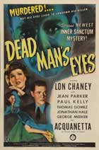Dead Man's Eyes - 11 x 17 Movie Poster - Style A
