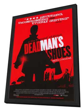 Dead Man's Shoes - 27 x 40 Movie Poster - Style A - in Deluxe Wood Frame