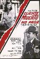 Dead Men Don't Wear Plaid - 27 x 40 Movie Poster - Spanish Style A