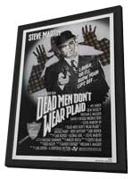 Dead Men Don't Wear Plaid - 27 x 40 Movie Poster - Style A - in Deluxe Wood Frame