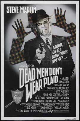 Dead Men Don't Wear Plaid - 11 x 17 Movie Poster - Style A