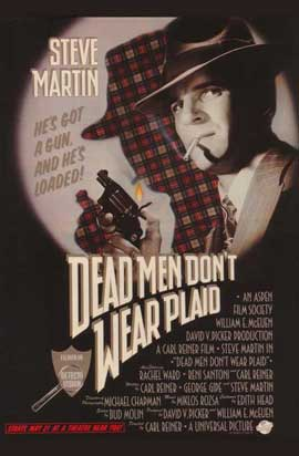 Dead Men Don't Wear Plaid - 11 x 17 Movie Poster - Style B