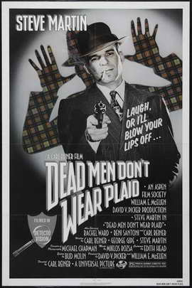 Dead Men Don't Wear Plaid - 27 x 40 Movie Poster - Style A