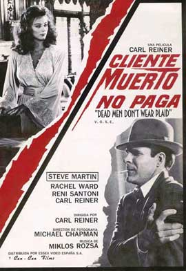 Dead Men Don't Wear Plaid - 11 x 17 Movie Poster - Spanish Style A