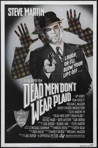 Dead Men Don't Wear Plaid - 43 x 62 Movie Poster - Bus Shelter Style A