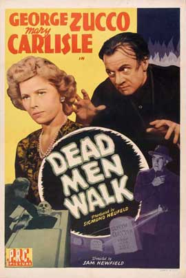 Dead Men Walk - 11 x 17 Movie Poster - Style A