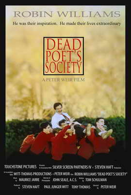 Dead Poets Society - 27 x 40 Movie Poster - Style B