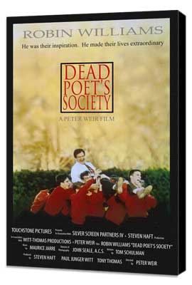 Dead Poets Society - 11 x 17 Movie Poster - Style B - Museum Wrapped Canvas