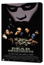 Dead Presidents - 27 x 40 Movie Poster - Style C - Museum Wrapped Canvas