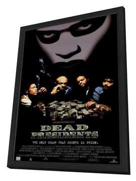 Dead Presidents - 27 x 40 Movie Poster - Style C - in Deluxe Wood Frame