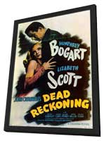 Dead Reckoning - 11 x 17 Movie Poster - Style B - in Deluxe Wood Frame