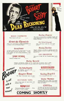 Dead Reckoning - 11 x 17 Movie Poster - UK Style A