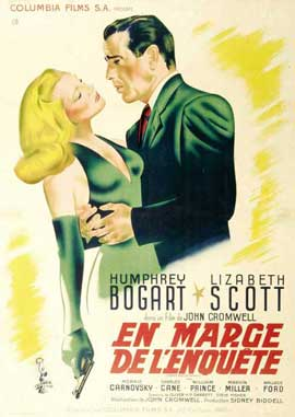 Dead Reckoning - 11 x 17 Movie Poster - French Style B