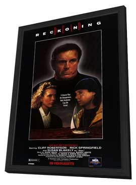 Dead Reckoning - 11 x 17 Movie Poster - Style A - in Deluxe Wood Frame