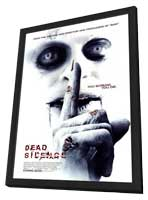 Dead Silence - 27 x 40 Movie Poster - Style B - in Deluxe Wood Frame