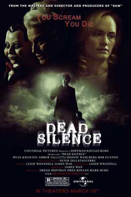 Dead Silence - 27 x 40 Movie Poster - Style C