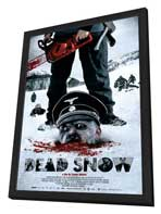 Dead Snow - 11 x 17 Movie Poster - Style C - in Deluxe Wood Frame