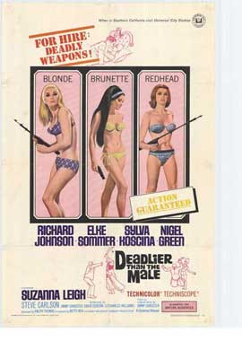 Deadlier Than the Male - 27 x 40 Movie Poster - Style A