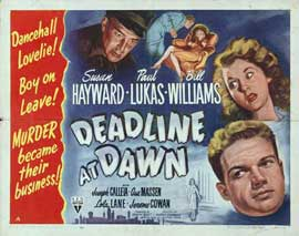 Deadline at Dawn - 22 x 28 Movie Poster - Half Sheet Style A