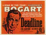 Deadline USA - 22 x 28 Movie Poster - Half Sheet Style A