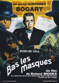 Deadline USA - 27 x 40 Movie Poster - French Style B