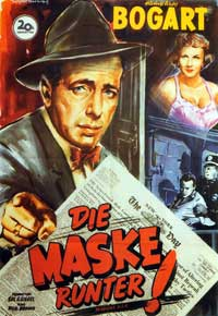 Deadline USA - 27 x 40 Movie Poster - German Style A