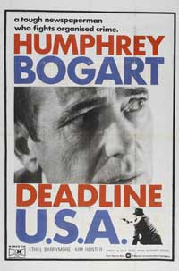Deadline USA - 27 x 40 Movie Poster - Style B
