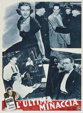 Deadline USA - 27 x 40 Movie Poster - Italian Style C