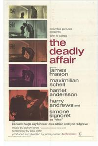 Deadly Affair - 27 x 40 Movie Poster - Style A
