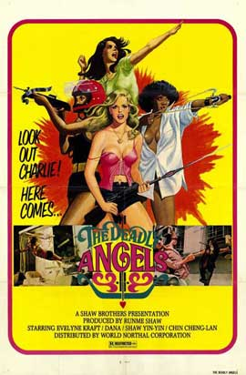 Deadly Angels - 11 x 17 Movie Poster - Style A