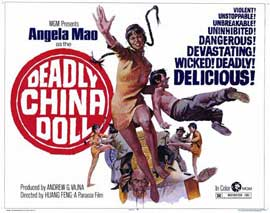 Deadly China Doll - 11 x 14 Movie Poster - Style A