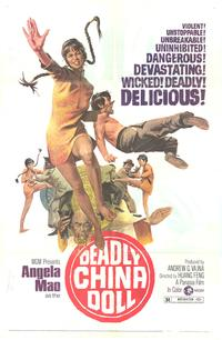 Deadly China Doll - 43 x 62 Movie Poster - Bus Shelter Style A
