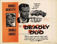 Deadly Duo - 11 x 14 Movie Poster - Style A