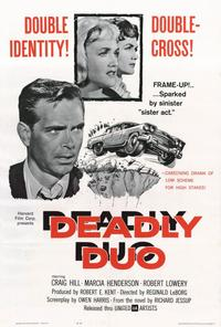 Deadly Duo - 27 x 40 Movie Poster - Style A