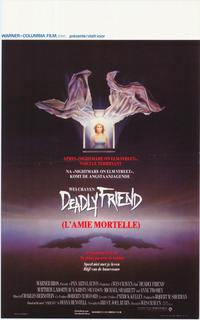 Deadly Friend - 11 x 17 Movie Poster - Belgian Style A