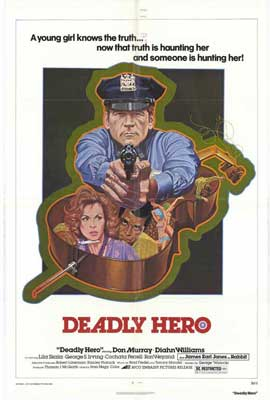 Deadly Hero - 11 x 17 Movie Poster - Style A