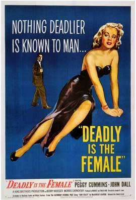 Deadly is the Female - 11 x 17 Movie Poster - Style A