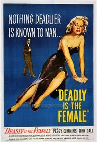 Deadly is the Female - 43 x 62 Movie Poster - Bus Shelter Style A