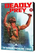Deadly Prey - 27 x 40 Movie Poster - UK Style A - Museum Wrapped Canvas